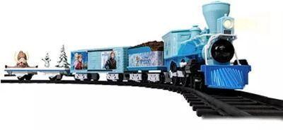 Lionel Disney Frozen Ready to Play Train Set