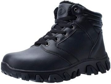 Barerun Men's Fur-Lined Hiking Boots