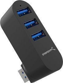 Sabrent Premium 3-Port Mini USB 3.0 Hub