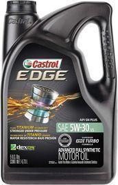 Castrol Edge High Mileage 5W-30 5qt Motor Oil
