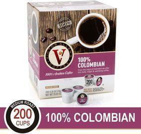 Victor Allen's Medium Roast Colombian Coffee K-Cups 200-Ct.