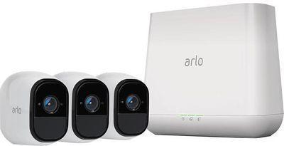Arlo Pro 3 Wireless Camera Smart Security System w/ Siren