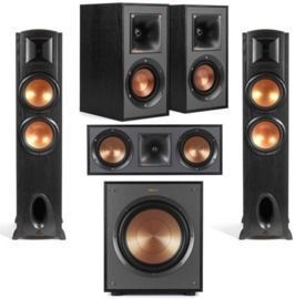 Klipsch Black Label F-300 Floorstanding Speaker w/ Bundle