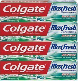4 Pack of Colgate Max Fresh Whitening Toothpaste