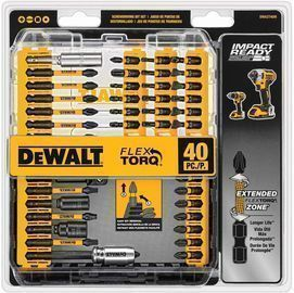 DEWALT 40-Piece Screwdriver Bit Set