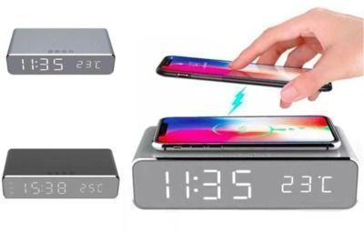 Daily Steals - 18% Off Wireless Charging Digital Alarm Clock