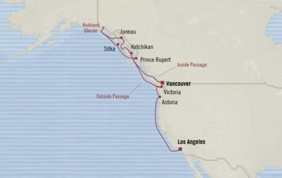 Alaska & Pacific Northwest: Luxe, 12-Nt Cruise
