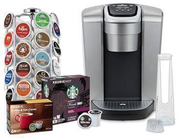 K-Elite Single-Serve K-Cup Coffee Maker w/ Pod Carousel