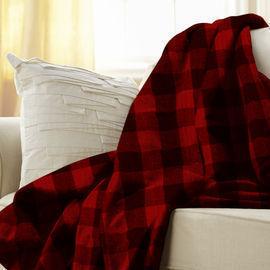 Sunbeam Heated Electric Microplush Throw Blanket