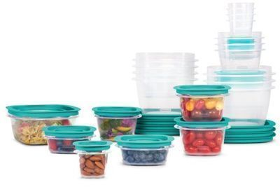 Rubbermaid Press & Lock Food Storage Containers, 42pc