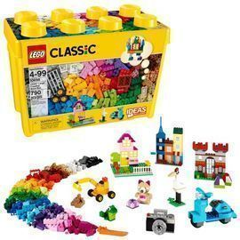 LEGO Classic Large Creative Brick Box Building Toy, 790pc