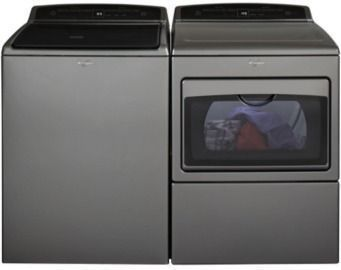 Whirlpool 4.8cu ft HE Top Load Washer / Elec. Dryer $598/Ea
