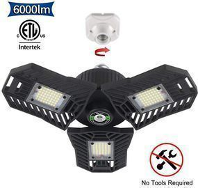 6000lm LED Three Leaf Garage Light