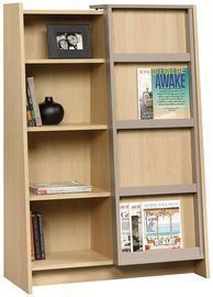 Sauder Affinity Office Display Bookcase (Urban Ash Finish)