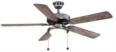 Trice 52 LED Gunmetal Ceiling Fan