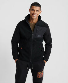 Superdray Sherpa Desert Modern Zip Through Jacket