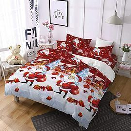 Christmas Bedding 3D Duvet Cover (King Only)