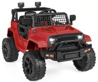 12V Kids Ride-On Truck Car w/ Parent Remote Control