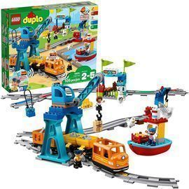 Lego Duplo Cargo Train Building Blocks Set