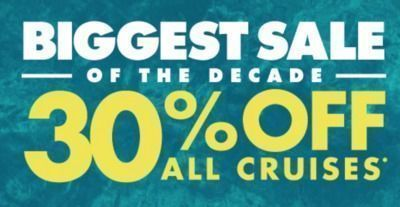 Norwegian Cruise Line - 30% Off All Cruises
