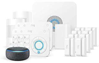Ring Alarm 14 Piece Kit + Echo Dot
