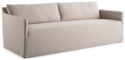 Dorsett Bench Seat Sofa, Natural