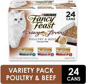 Purina Fancy Feast Gravy Lovers Poultry and Beef Cat Food