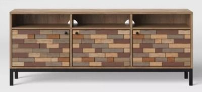 Frederick Pieced Wood Media Cabinet