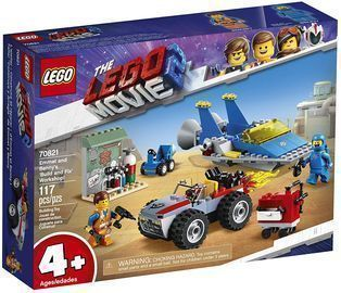 Lego the Movie 2 Emmet and Bennys Build and Fix Workshop