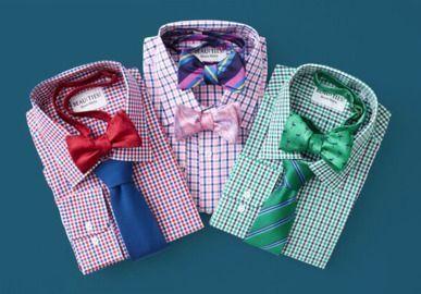 Beau Ties LTD. - 25% Off 2-Color Gingham Dress Shirts