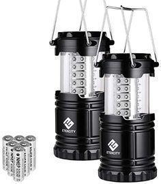 Etekcity LED Collapsible Flashlight Portable Lamp, 2 Pack