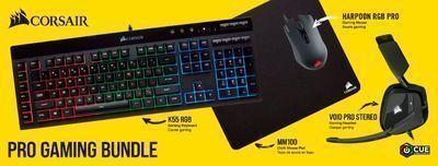 CORSAIR Pro Wired Gaming Bundle w/ RGB Lighting
