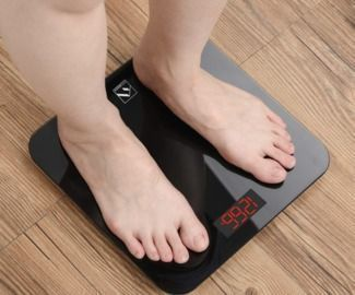 Smart Digital Body Weight Scale w/ Bluetooth + App