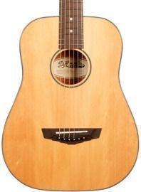 D'Angelico Premier Series Utica Mini Acoustic Guitar