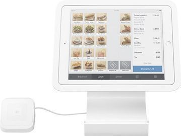 Square Stand for Contactless & Chip for Apple iPad