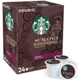 5x 24-Count Starbucks Keurig Single Serve K-Cup Pods