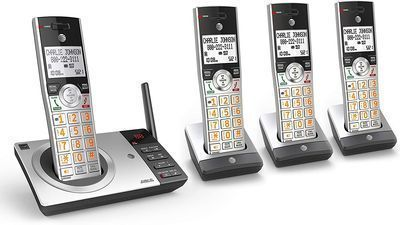 AT&T Expandable Phone Answering System w/ 4 Handsets