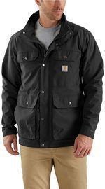 Carhartt Men's Extra Large Black Nylon Utility Coat