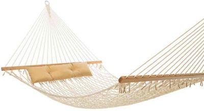 Tropic Island 13-Foot Natural Cotton Rope Hammock