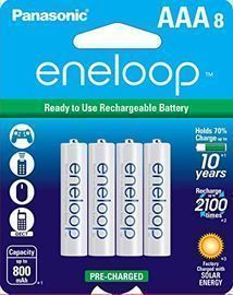 Panasonic eneloop AAA Rechargeable Battery 8-Pack