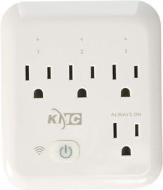 KMC 4-Outlet Wifi Smart Plug