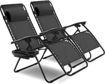 GoPlus 2-Pc. Zero Gravity Chairs