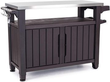 Keter Unity Outdoor 78-Gallon Storage Table and Prep Station