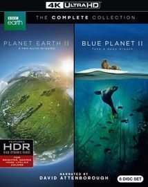 Planet Earth/Planet Earth II, 4K Ultra HD Blu-ray