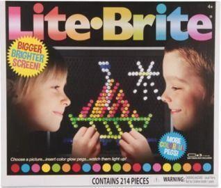 Lite Brite Ultimate Classic w/ 6 Templates & 200 Pegs