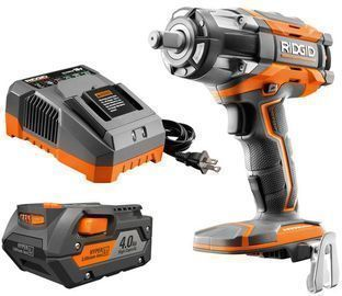 RIDGID 18v OCTANE Lithium-Ion Cordless Impact Wrench Kit