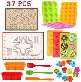 37PCS Silicone Baking Set