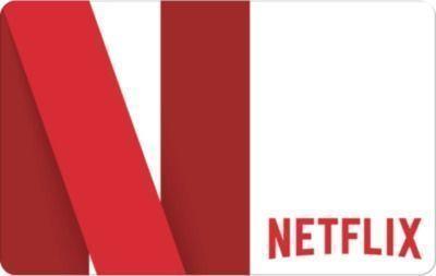 $60 Netflix Gift Card w/ $5 eBay Gift Card