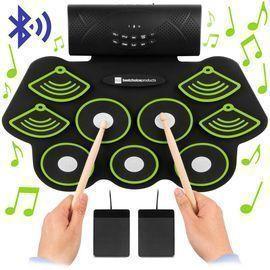 9 Pad Roll Up Bluetooth Electric Drum Set