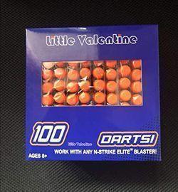 Little Valentine 100-Dart Refill Pack for Nerf N-Strike Elite